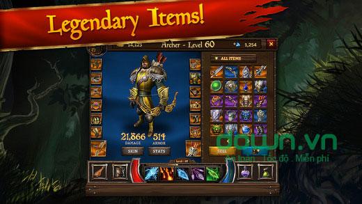 Game nhập vai hành động KingsRoad cho iOS