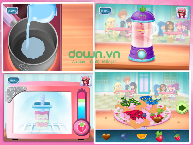 Strawberry Sweet Shop cho Android