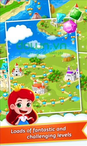 Game trí tuệ Jewel Legend cho Windows Phone