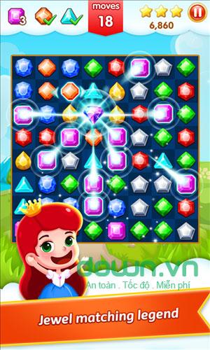 Bosster hấp dẫn trong Jewel Legend cho Windows Phone