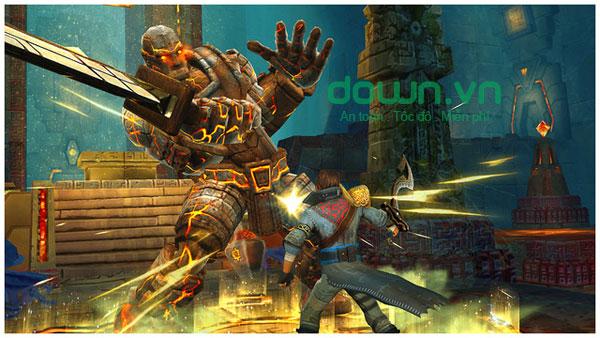 Game nhập vai hành động hấp dẫn Stormblades cho iOS