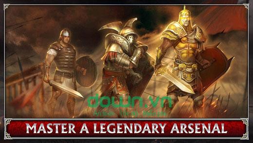 Các nhiệm vụ trong Blood & Glory: Immortals cho iOS