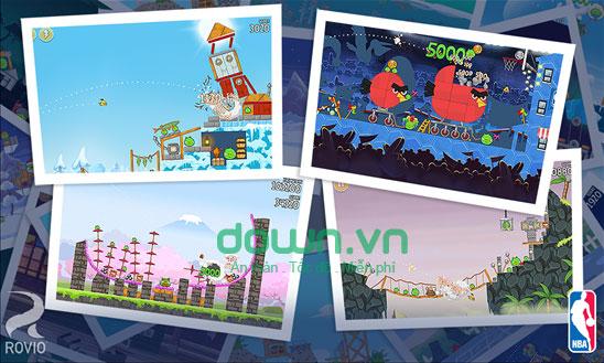 Cách bắn chim thông minh trong Angry Birds Seasons cho Windows Phone