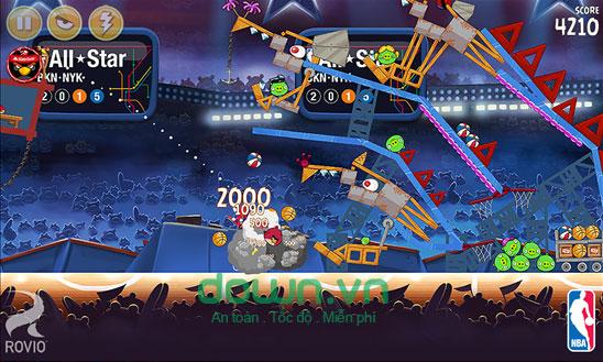 Tăng điểm số trong Angry Birds Seasons cho Windows Phone