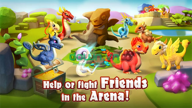 Dragon Mania Legends cho Android