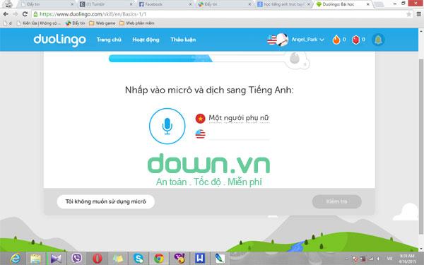 Cung cấp hệ thống học ngoại ngữ bài bản với Duolingo cho PC