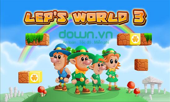 Game phiêu lưu Lep's World 3 cho Windows Phone