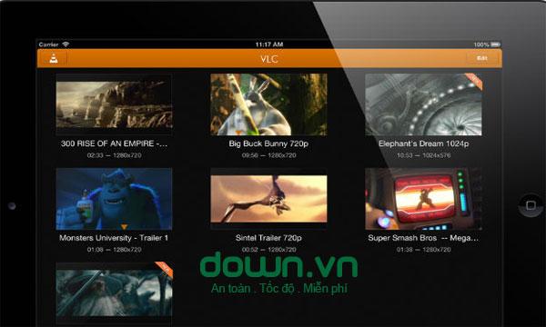 Trình xem video VLC miễn phí cho iOS