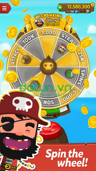 Pirate Kings cho iOS