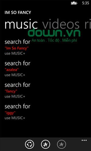 Ứng dụng nhạc chuông Ringtones cho Windows Phone