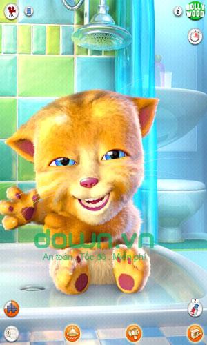 Game nuôi mèo Talking Ginger miễn phí cho Windows Phone