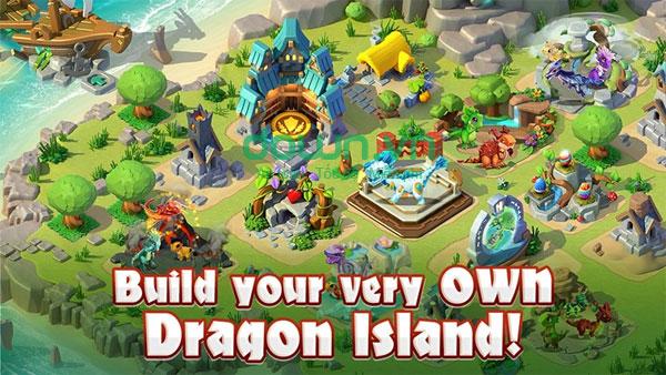 Game nuôi Rồng Dragon Mania Legends cho PC