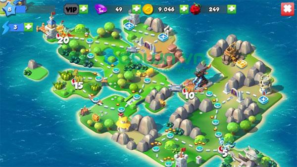 Game mô phỏng Dragon Mania Legends cho Windows