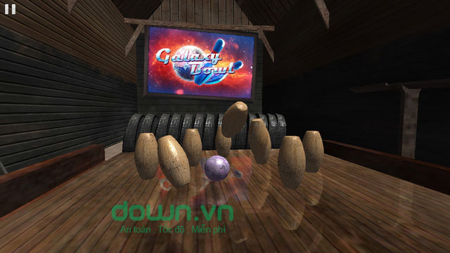 Galaxy Bowling HD cho iOS