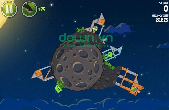 Điểm thưởng trong Angry Birds Space cho Windows Phone