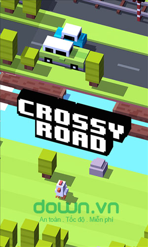 game trí tuệ Crossy Road