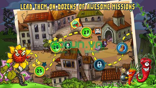 Zombie Harvest cho iOS