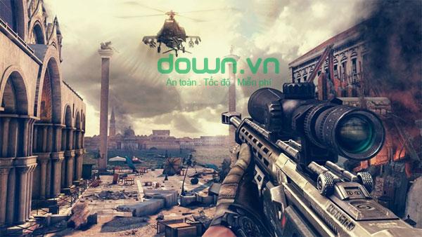 Game bắn súng Modern Combat 5: Blackout