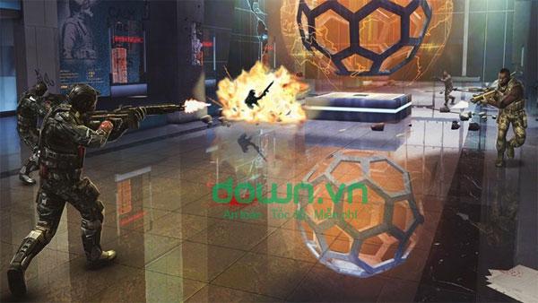 Cuộc đấu súng trong Modern Combat 5: Blackout