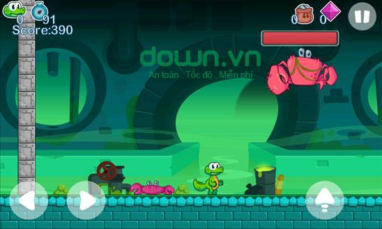 Crocs World 2 game trí tuệ cho Windows Phone