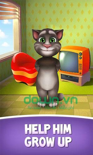 Game nuôi mèo ảo My Talking Tom