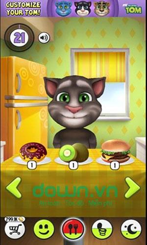 Trò chuyện với chú mèo Tom trong My Talking Tom
