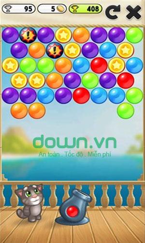 Chơi mini game trong My Talking Tom