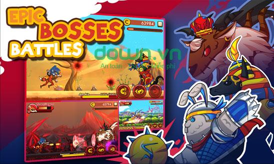 Game hành động Monster Go! cho Windows phone