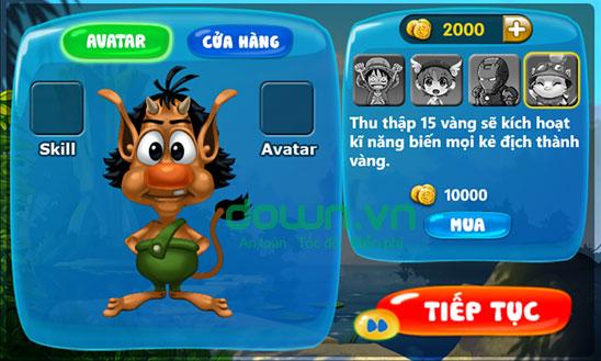 Game Endless Running Hugo và Hòn đảo huyền bí