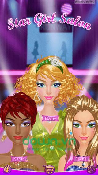 Star Girl Salon cho iOS