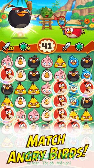 Angry Birds Fight! cho iOS