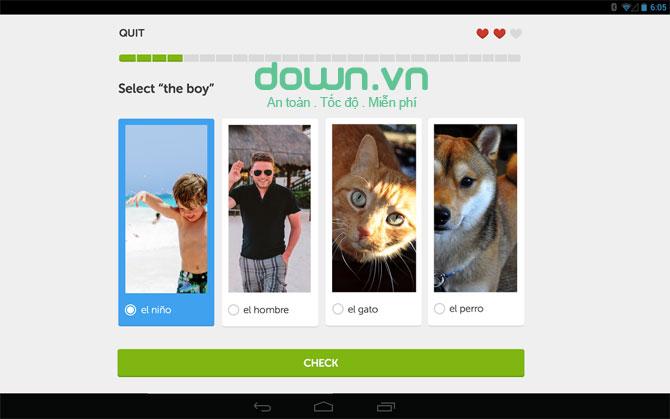Duolingo cho Android