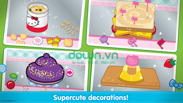 Hello Kitty Lunchbox cho iOS