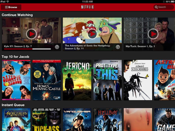 Netflix for iOS