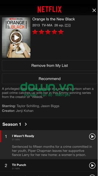 ứng dụng xem video miễn phí cho iPhone/iPad