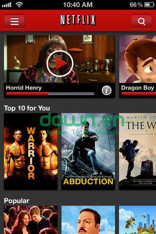 Tải ứng dụng xem video miễn phí cho iPhone/iPad