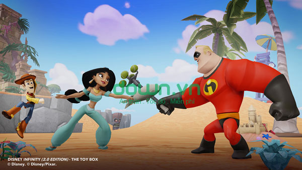 Disney Infinity: Toy Box 2.0 for iOS
