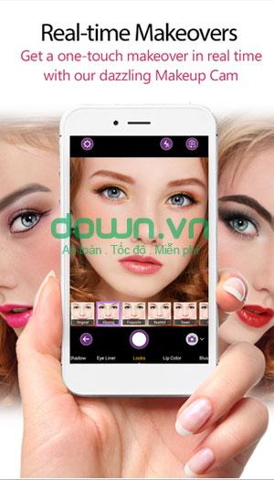 Tải ứng dụng trang điểm anh cho iPhone/iPad