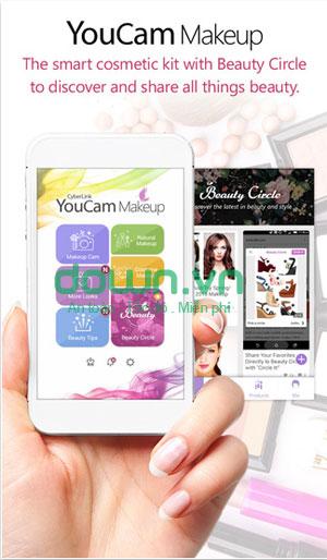 ứng dụng trang điểm anh cho iPhone/iPad