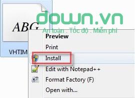 Hướng dẫn cài đặt thêm font cho máy tính