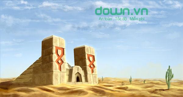 Desert Temple - Điện thờ sa mạc