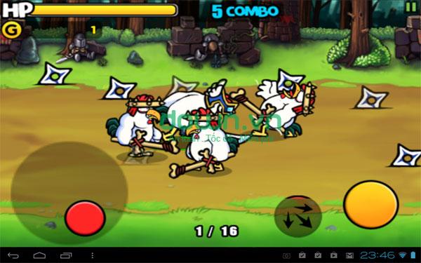 Tải game những chiến binh gà miễn phí cho iPhone/iPad