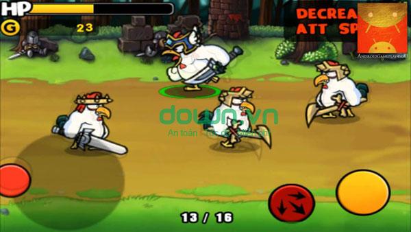 game những chiến binh gà miễn phí cho iPhone/iPad