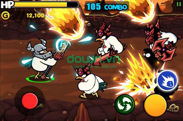game những chiến binh gà miễn phí
