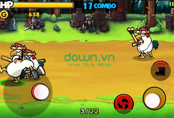 Chicken Revolution: Warrior miễn phí cho iPhone/iPad