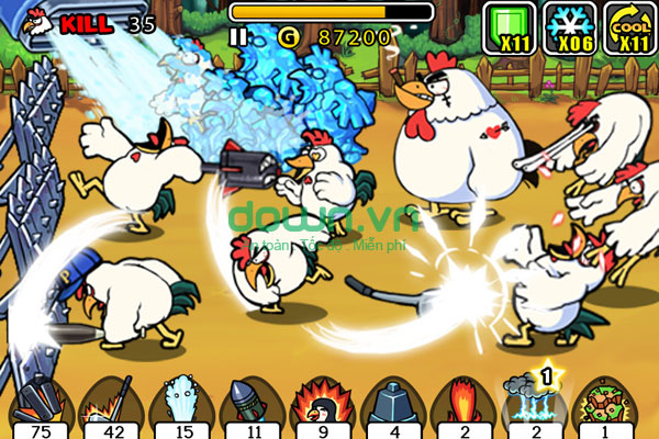 Tải Chicken Revolution: Warrior miễn phí cho iPhone/iPad