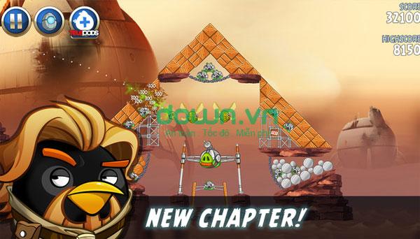 Tải game Jedi Birds nổi giận II cho iPhone/iPad