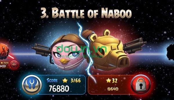 game Jedi Birds nổi giận II cho iPhone/iPad