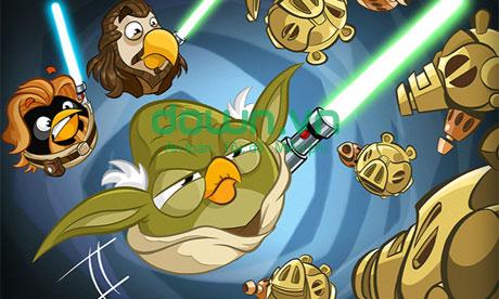 Tải game Jedi Birds nổi giận II miễn phí