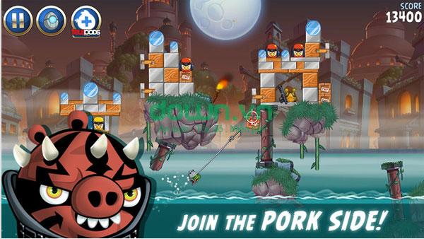Angry Birds Star Wars II miễn phí cho iOS/iPad